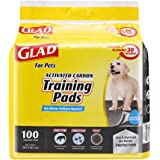 GLAD 适用于宠物活性碳训练垫 100 ct