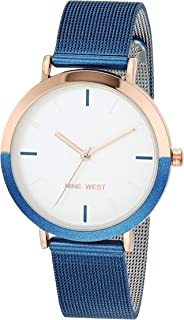 Nine West 玖熙 女式网眼手链手表 NW/2515