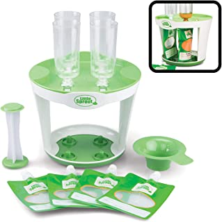 婴儿食品制作器填料站 - 一次可挤压 4 个婴儿食品袋