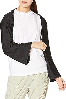 ATSUGI 厚木 clear beauty active 摩洛哥特式便携包 带兜帽 *热天气运动比赛 防紫外线 UPF50+ 女士 47037AS 黑色 日本 FS (FREE サイズ)