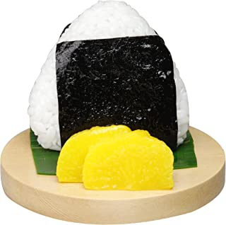 Suetake Sample 食物模型风格智能手机支架 适用于各种机型 饭团/海苔 stand-10049