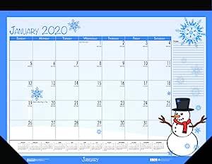 House of Doolittle 2020 挂历 Desk Pad Calendar 22 x 17 Inches