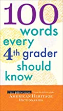100 Words Every 4th Grader Should Know (English Edition)
