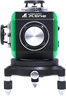シンワ測定 レーザー 墨出し器 LASER ROBO Xline (レーザーロボ エックスライン) グリーン フルライン・地墨クロス 71608