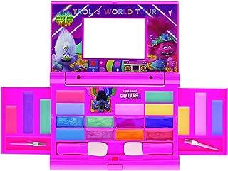 Townley Girl 超闪亮唇彩化妆品套装适合女孩,22 唇彩,4 色化妆盒