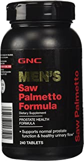 GNC Mens Saw Palmetto Formula for Prostate Urinary Function - 240 Tablets