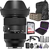 Sigma 24-70mm f/2.8 DG DN 艺术镜头 适用于索尼 E 卡口 Altura 照片高级照片和旅行套装