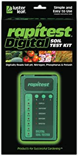Luster Leaf 1605 Rapitest Digital Soil Testing Kit