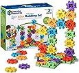 Learning Resources 齿轮 100件豪华组建套装,组建玩具,3岁以上儿童