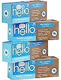 Hello 口腔护理牙膏儿童2岁以上 Blue Raspberry 4.2 Ounce (Pack of 4)