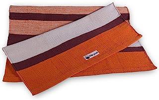 Bliss Peak 棉质瑜伽地毯 3 合 1 :瑜伽地毯、冥想地毯和关节支撑。 印度手工制作。 适合所有瑜伽风格 - Yin、Restortion、Ashthanga、Mysore、Hot Yoga 等。