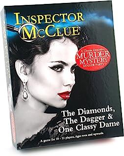 """Paul Lamond 6315 """"Inspector Mc Clue 钻石匕首和经典的圣母游戏"""