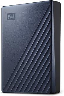 Western Digital 西部数据 WD My Passport Ultra Blue 便携式外置硬盘,USB-C-WDBFTM0050BBL-WESN,5TB