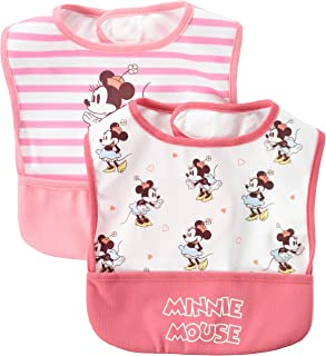 Disney 迪士尼 米奇&米妮 吃饭围裙 2件装 男孩 女孩 311105210 粉色 均码