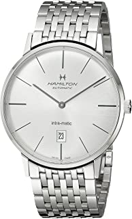 瑞士品牌 HAMILTON 汉米尔顿 臻薄系列 男表 H38755151