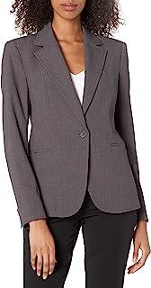 Anne Klein 女士缺口领单扣西装