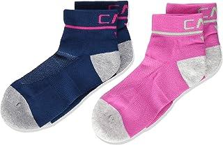 C.P.M. Cotone Da Corsa 儿童Calza 2 双装袜子