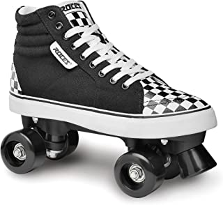 Roces (ROCFX) 550054-003,Skate Quad 男女通用 - 成人,黑色白色,54-58 厘米