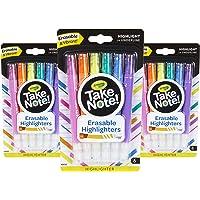 Crayola 18ct 可擦除亮光笔