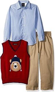 TFW Dresswear 男婴毛衣背心套装