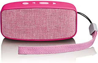 Lenco 蓝牙扬声器BT-120 Pink  ohne Diskolicht 3 Watt