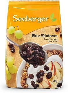 Seeberger 蓝葡萄干麦片,8件装(8 x 500g袋)