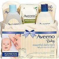 Aveeno 艾惟诺 婴儿基础日用护理 宝宝&妈妈礼品套装,具有多种护肤和沐浴产品,可滋养婴儿和呵护妈妈,为新妈妈和准妈…