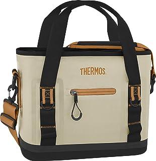 THERMOS 膳魔师 Trailsman 12 罐手提包,奶油色/棕褐色