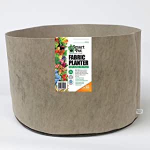 Smart Pots 软面容器,方形尺寸 100-Gal 棕色 16101