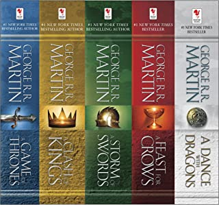 George R. R. Martin's A Game of Thrones 5-Book Boxed Set (Song of Ice and Fire Series): A Game of Thrones, A Clash of King...
