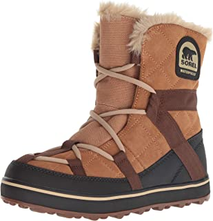 sorel 女式 glacy EXPLORER shortie 雪地靴
