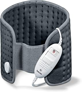 Beurer HK 49 Cosy 加热垫,用于腹部和背部,带松紧带和魔术贴,自动关机,可机洗