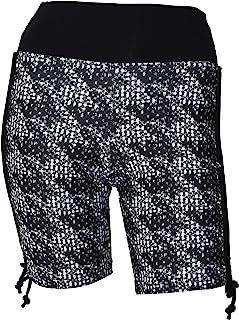 Private Island 女式侧系带加大码 UPF 50+ 游泳沙滩短裤*衣
