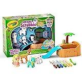 Crayola 涂鸦磨砂动物浴缸套装,彩色和洗涤创意玩具,儿童礼品,适合 3 岁,4 岁,5 岁,6 岁