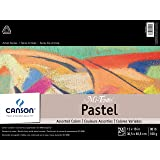 CANSON Mi-Teintes Pad for Pastels, 24 Sheets, 12 by 16-Inch