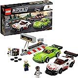 LEGO 乐高 速度冠军大闹保时捷博物馆:911 RSR赛车和911 Turbo 3.0双车套装(391件)