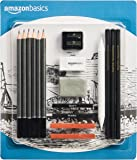 AmazonBasics Sketch and Drawing Pencil Set - 17 Pieces