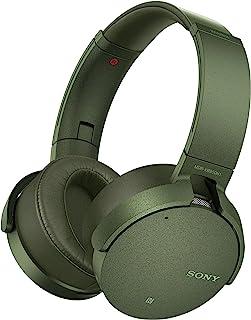 Sony 索尼 无线降噪耳机 MDR-XB950N1 (降噪,超重低音,NFC,蓝牙,可折叠),绿色