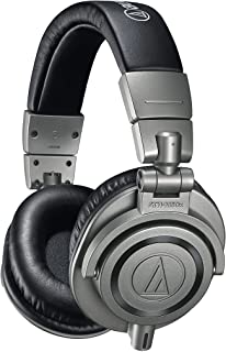 audio-technica 铁三角 ATH-M50XGM 专业监听耳机,金属,包含装耳机的硬盒