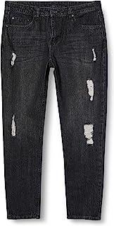 城市经典女士裤子女士男友牛仔裤