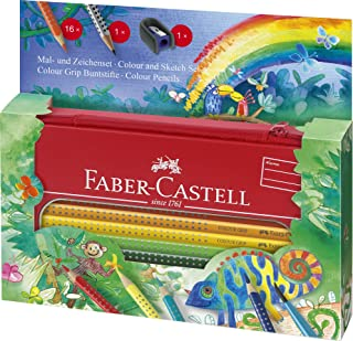 Faber-Castell Colour GRIP 次 - 和字符套装 Colour GRIP Dschungel