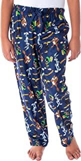 Looney Tunes 男童 Daffy Duck Bugs Bunny Taz Marvin Martian 全身投掷印花休闲*睡裤