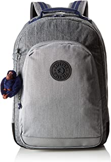 Kipling 凯浦林 课堂 书包 43 厘米 Grey (Ash Denim Bl) Grey (Ash Denim Bl)