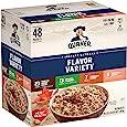 Quaker 桂格 速溶燕麦片,4 种口味组合包,单个包装,48 包