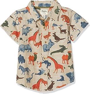 Hatley 男婴短袖纽扣衬衫衬衫