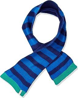 ESPRIT KIDS 男婴 RP9001207 KNIT SCARF 围巾,蓝色(亮蓝色 442),均码(制造商尺寸:1SIZE)