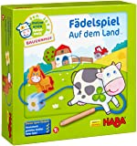 Haba 5580 Meine erste Spielwelt 穿线农场,设计精美的教育游戏和运动技能玩具,适用于18月…