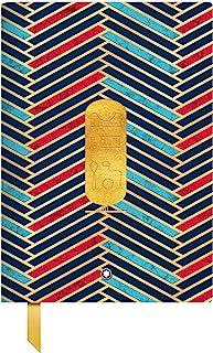 Montblanc 万宝龙 笔记本 #146 Heritage Egyptomania 皮革封面 金色 21 × 15 厘米 125918