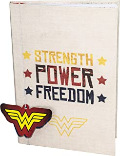 Wonder Woman 帆布笔记本