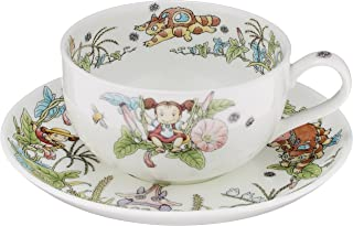 Noritake X Studio Ghibli Neighbor Totoro Milktea Cup &?Saucer Hirugao Ver 97285?4660-4